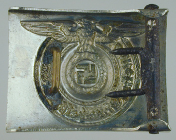 Early Nickle Silver SS buckle