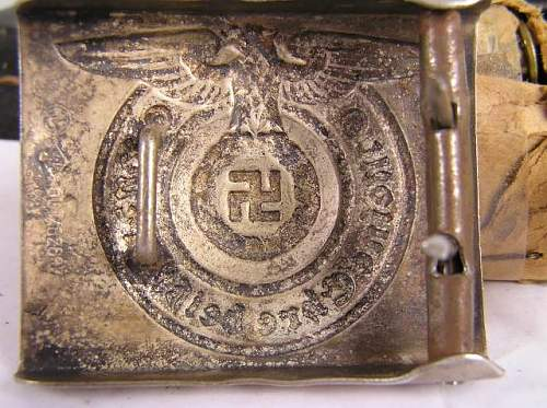 Fake SS Buckle for the Rogues Gallery?