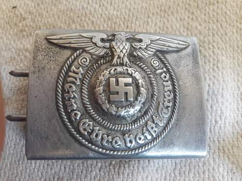 Buckles ss 822/38 and 822/37 ss