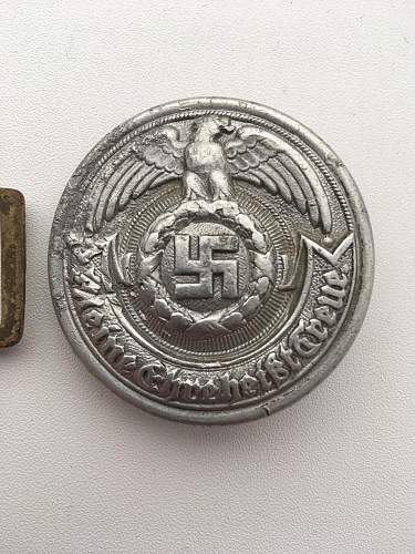 SS Buckle - Authentic or not?