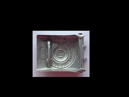 SS buckle RZM 822/38 SS