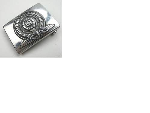 question about 36/40 ss buckle