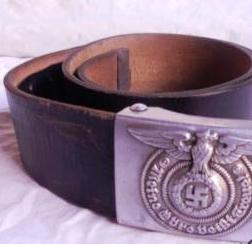 Fake SS buckle and belt