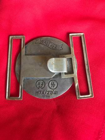 4th Reich SS Fallshirmjager buckle?