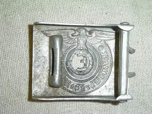 Estonian SS Buckle