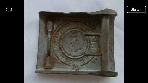 Indentifying authencity of this Dutch SS beltbuckle