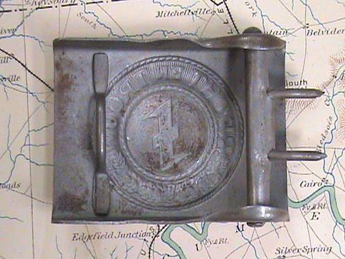 Dutch SS belt buckle
