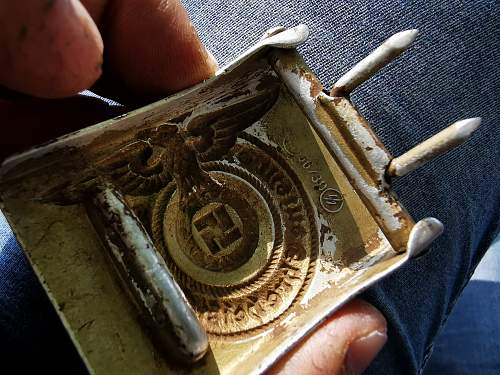 36/39  belt buckle - original or fake?