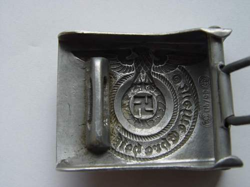 SS NCO  Belt Buckle real???