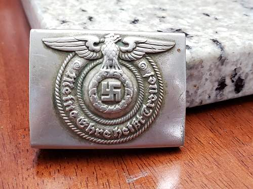 RZM 36/36 SS Buckle my grandfather brought home