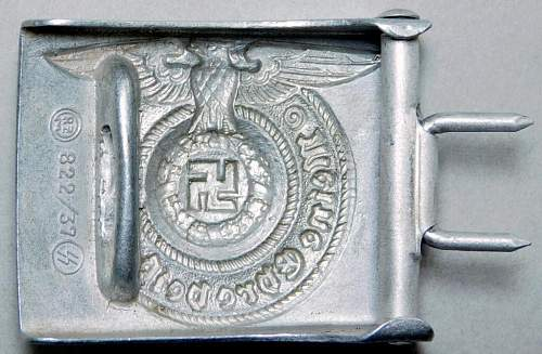Auction Won 3 SS Buckles. Opinions requested for new member.