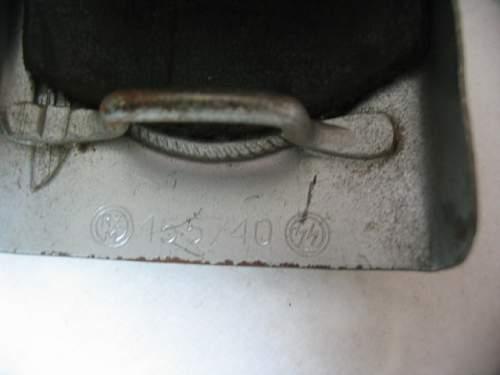 Genuine SS buckle 155/40?