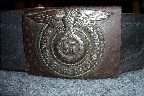 SS Belt and Buckle
