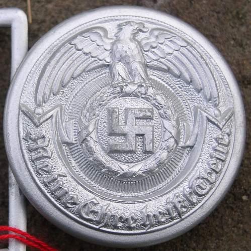 SS generals belt buckle