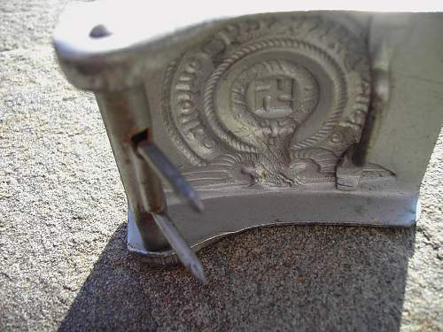 Unmarked SS buckle opinions plz.