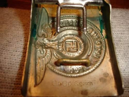 Nickel plated steel SS-Buckle