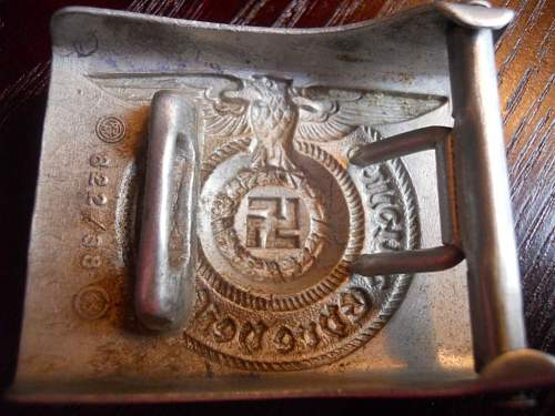 SS buckle...is it real?