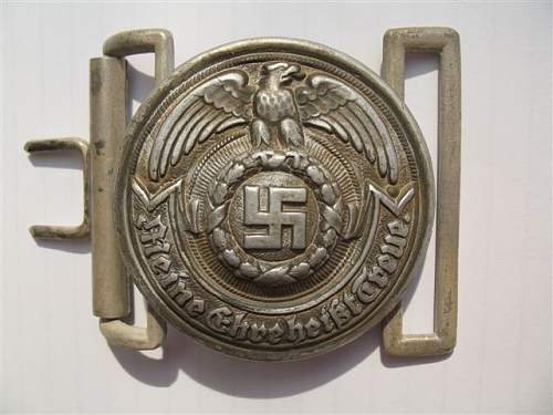Officers SS Buckle