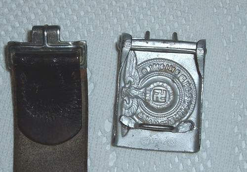 Opinions on this SS belt and buckle