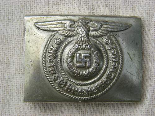 SS buckle and belt