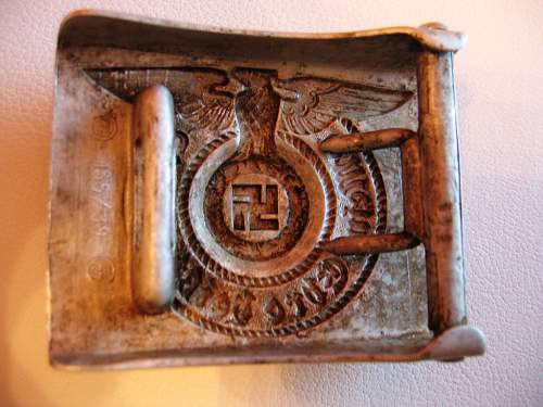 Original 2 type of the SS buckle 155/39
