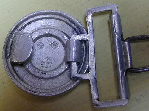 German SS Officer Belt Buckle genuine or fake?