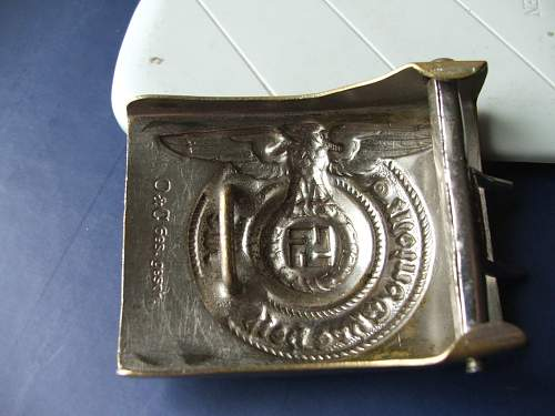 My new ss buckles