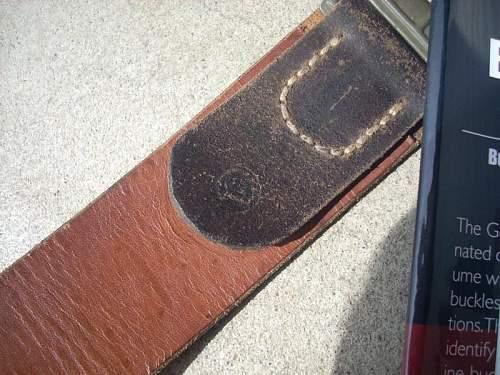 """""""Dachau 1943"""" belt ... ?"""