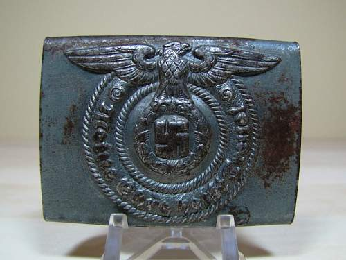 SS buckle, real or fake???