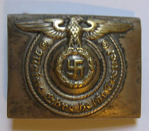 SS buckle...fake?