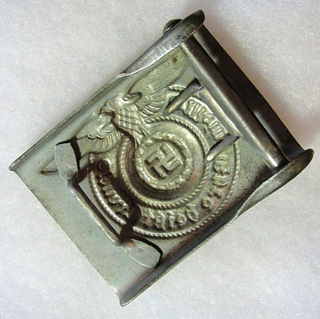 SS EM/NCO belt buckle. Real or fake?