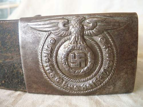 Nice ss  belt and buckle finding !!!!!