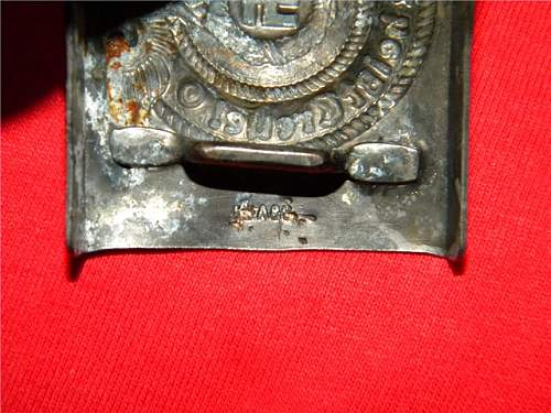 SS em Belt Buckle real or not,  I am thinking of buying it