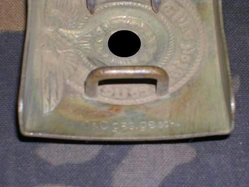 SS alpaca belt buckle genuine?