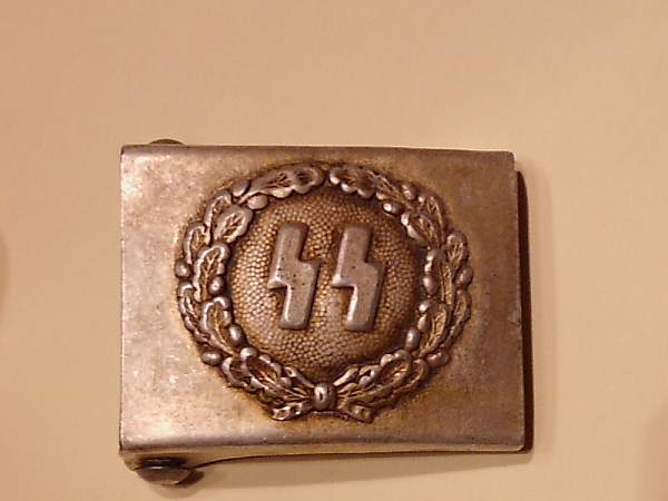 SS Buckle recent purchase need info