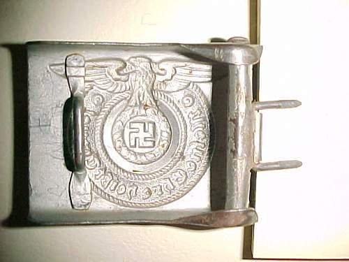 My SS buckles