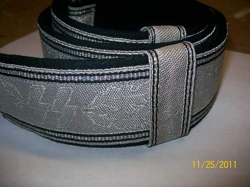 SS Officers brocade belt...fake or original??
