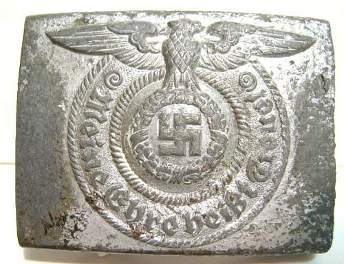 SS Buckle - Fake?