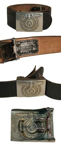 SS EM/NCO Overhoff & Cie Buckle and Belt