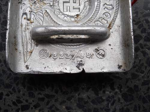 Beltbuckle 822/38 SS good one?