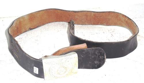 Ss belt with buckle...original or repro?