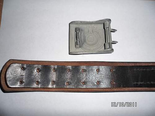 Ss belt with buckle...legit or fake?