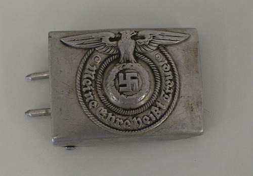 SS belt buckle 822/38: real or fake?