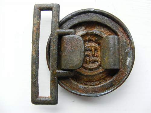 Unmarked SS Officer's Buckle