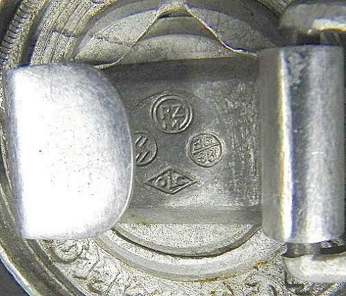 SS officers belt buckle: original?