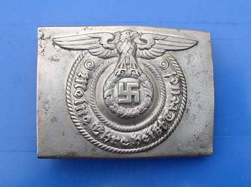 Full title SS buckle by Overhoff