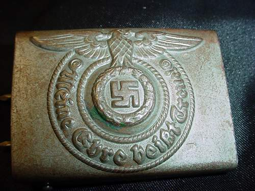 pair of SS buckles for opinions.