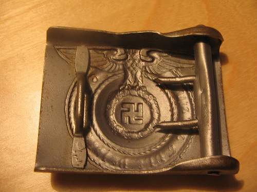 SS Buckle unmarked