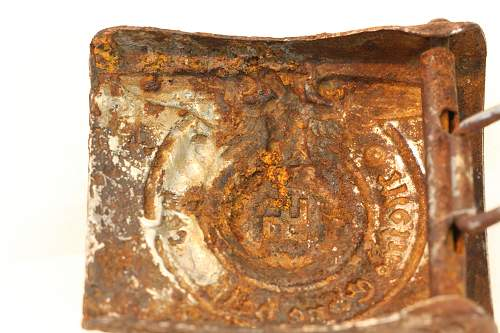 SS Buckle relic