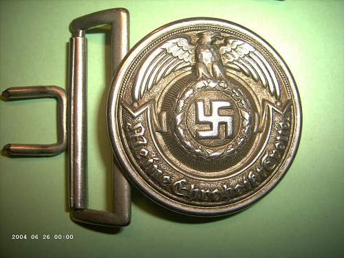 SS officer's buckle... real or fake?